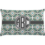 Geometric Circles Pillow Case (Personalized)