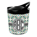 Geometric Circles Plastic Ice Bucket (Personalized)
