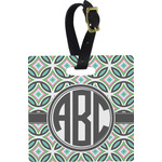 Geometric Circles Luggage Tags (Personalized)
