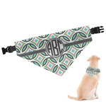 Geometric Circles Dog Bandana (Personalized)