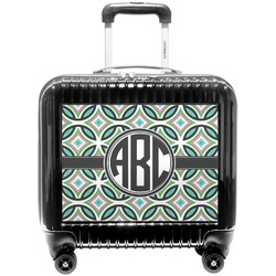Geometric Circles Pilot / Flight Suitcase (Personalized)
