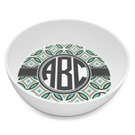 Geometric Circles Melamine Bowl 8oz (Personalized)