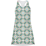 Geometric Circles Racerback Dress (Personalized)