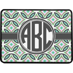 Geometric Circles Rectangular Trailer Hitch Cover (Personalized)