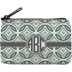 Geometric Circles Rectangular Coin Purse (Personalized)