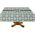 Geometric Circles Tablecloth (Personalized)