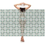 Geometric Circles Sheer Sarong (Personalized)
