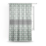 Geometric Circles Sheer Curtains (Personalized)