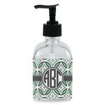 Geometric Circles Soap/Lotion Dispenser (Glass) (Personalized)