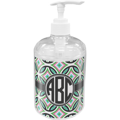 Geometric Circles Soap / Lotion Dispenser (Personalized)