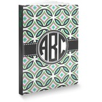 Geometric Circles Softbound Notebook (Personalized)