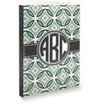 Geometric Circles Softbound Notebook (Personalized)