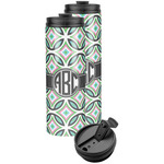 Geometric Circles Stainless Steel Skinny Tumbler (Personalized)