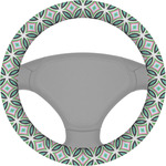 Geometric Circles Steering Wheel Cover (Personalized)