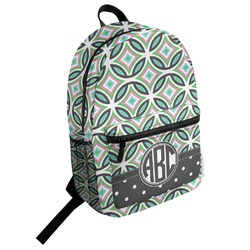 Geometric Circles Student Backpack (Personalized)