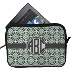 Geometric Circles Tablet Case / Sleeve - Small (Personalized)