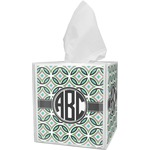 Geometric Circles Tissue Box Cover (Personalized)