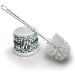 Geometric Circles Toilet Brush (Personalized)