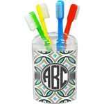Geometric Circles Toothbrush Holder (Personalized)