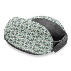 Geometric Circles Travel Neck Pillow (Personalized)
