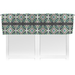 Geometric Circles Valance (Personalized)