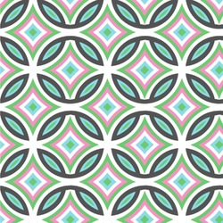 Geometric Circles Wallpaper & Surface Covering