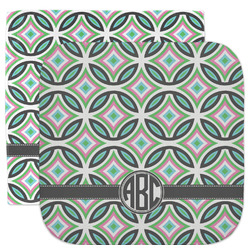 Geometric Circles Facecloth / Wash Cloth (Personalized)