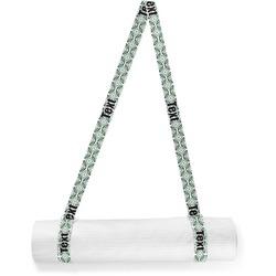 Geometric Circles Yoga Mat Strap (Personalized)