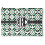 Geometric Circles Zipper Pouch (Personalized)
