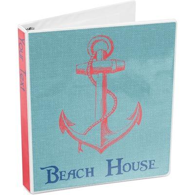 Chic Beach House 3-Ring Binder