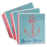 Chic Beach House 3-Ring Binder