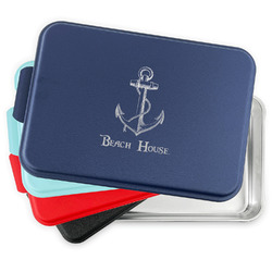 Chic Beach House Aluminum Baking Pan with Lid