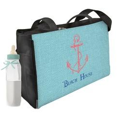 Chic Beach House Diaper Bag