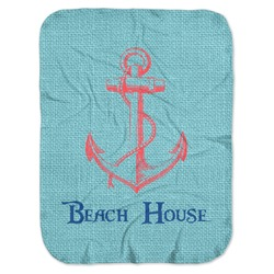 Chic Beach House Baby Swaddling Blanket