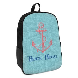 Chic Beach House Kids Backpack