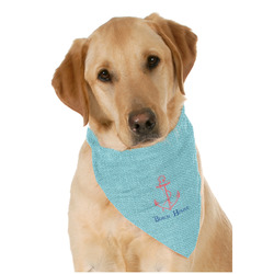 Chic Beach House Dog Bandana Scarf