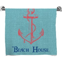 Chic Beach House Full Print Bath Towel