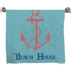 Chic Beach House Full Print Bath Towel