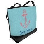 Chic Beach House Beach Tote Bag