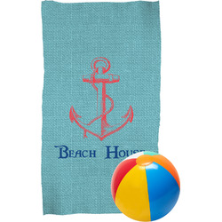 Chic Beach House Beach Towel