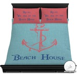 Chic Beach House Duvet Cover Set