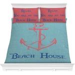 Chic Beach House Comforter Set