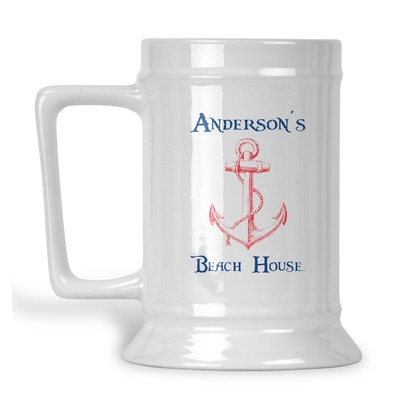 Chic Beach House Beer Stein