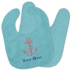 Chic Beach House Baby Bib