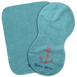 Chic Beach House Burp Cloth