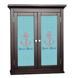 Chic Beach House Cabinet Decal - Custom Size