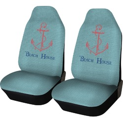 Chic Beach House Car Seat Covers (Set of Two)