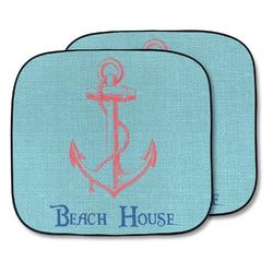 Chic Beach House Car Sun Shade - Two Piece
