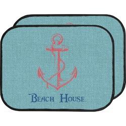 Chic Beach House Car Floor Mats (Back Seat)