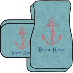 Chic Beach House Car Floor Mats